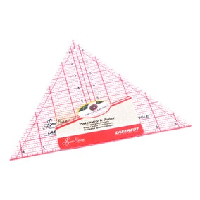 60 Degree Triangle Quilting Rule