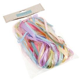 Pack of 25 Mixed Pastel Ribbons