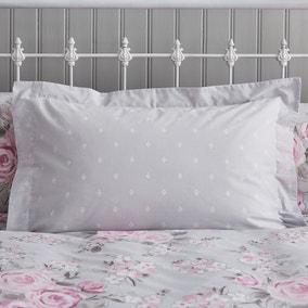 Rosemont Grey Oxford Pillowcase