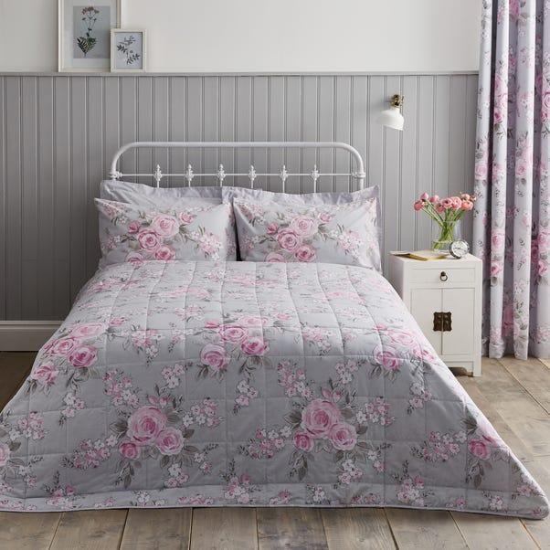 Rosemont Grey Bedspread Grey undefined