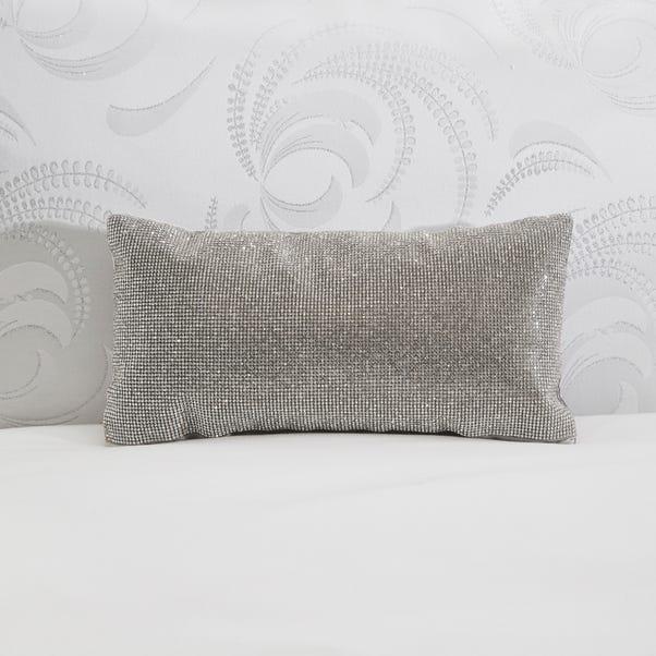 5A Fifth Avenue Sparkle Silver Cushion Silver