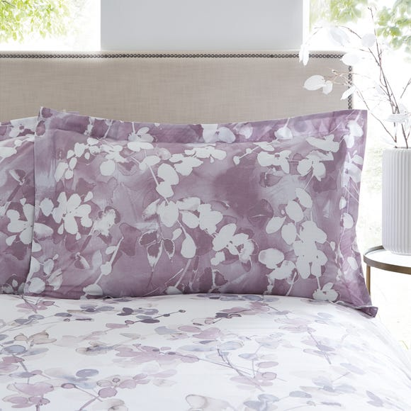 Honesty Mauve Oxford Pillowcase