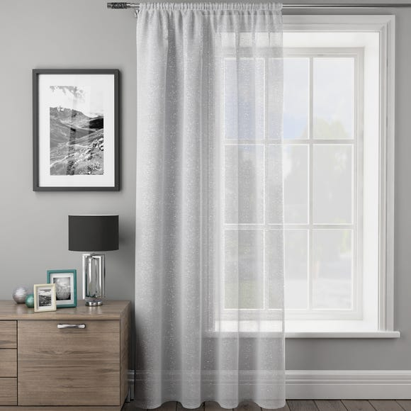 Angel White Slot Top Single Voile Panel  undefined
