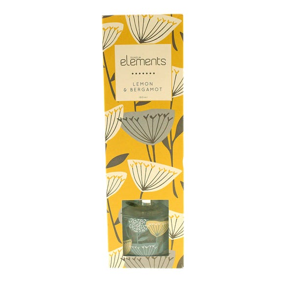Elements Lemon Bergamot Diffuser Yellow undefined