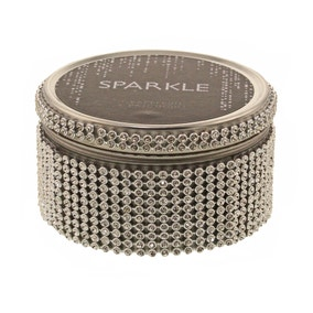 Sparkle Diamante Grapefruit and Patchouli Tin Candle