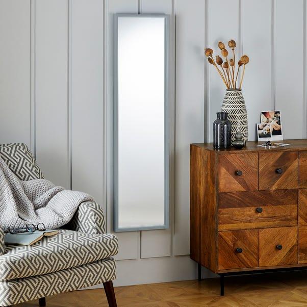 Essentials Full Length Mirror 122x32cm Grey Grey