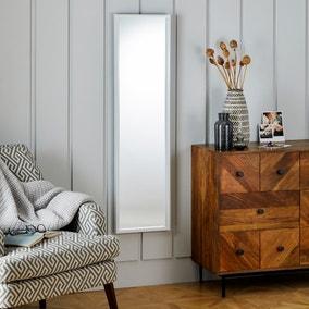 Essentials Full Length Mirror 122x32cm White