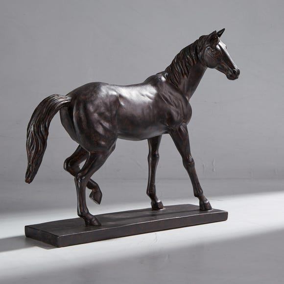 Dorma Horse on Stand Brown