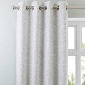 Dorma Winchester Grey Eyelet Curtains