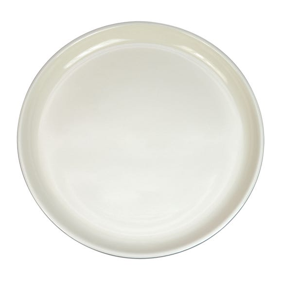 Elements Stacking Grey Dinner Plate Grey