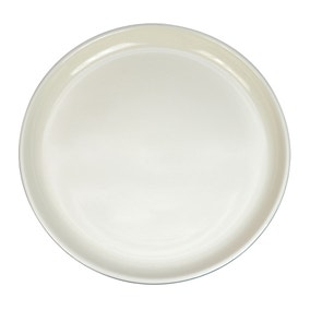 Elements Stacking Grey Dinner Plate
