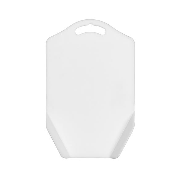 Chef Aid Funnel Chopping Board White