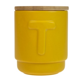 Elements Ochre Tea Canister