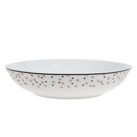 Allure Gold Pasta Bowl
