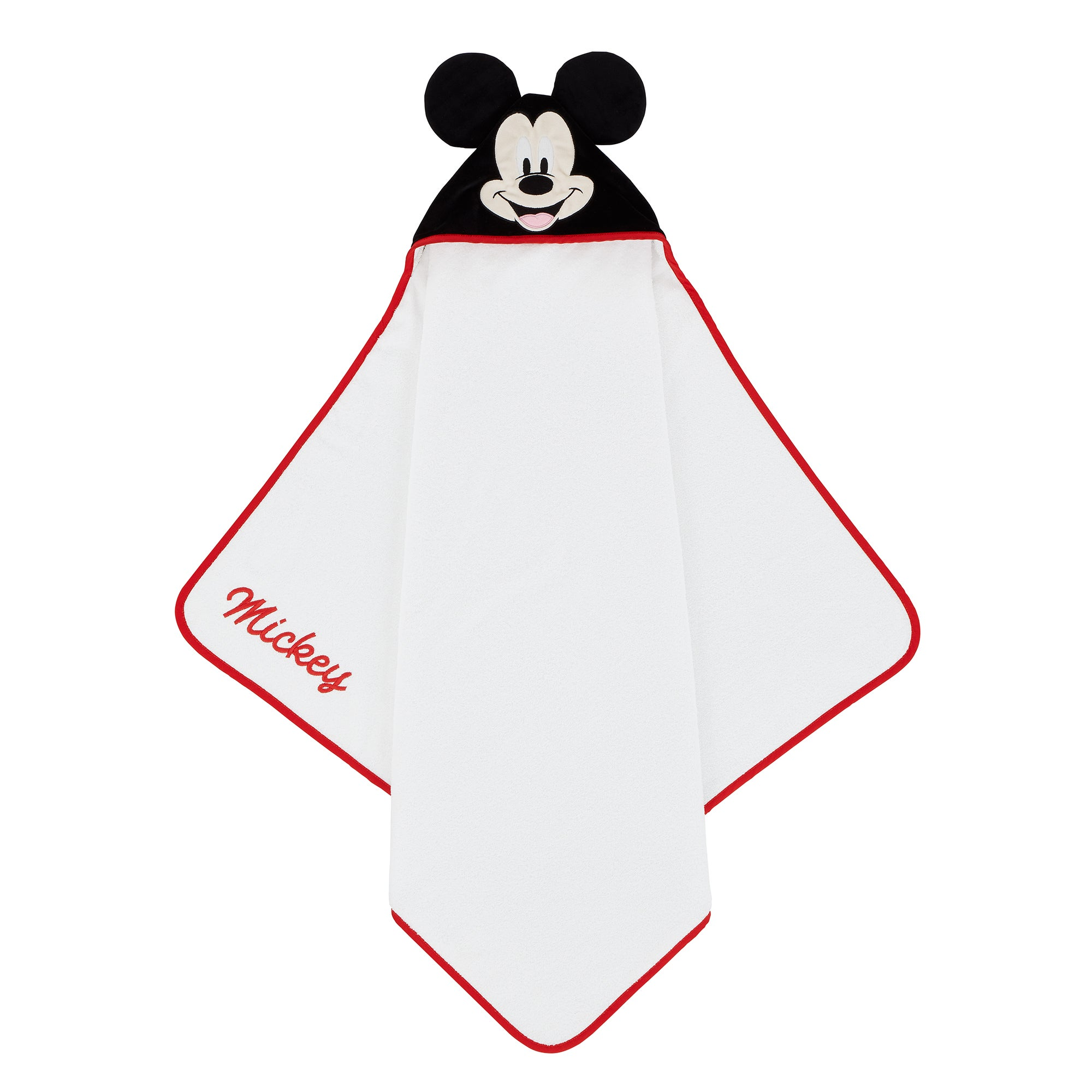 Photo of Mickey mouse cuddle robe white