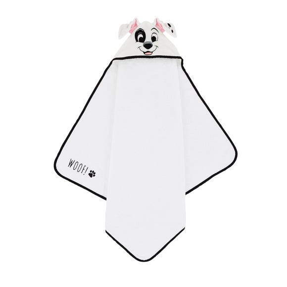Disney Dalmatian Cuddle Robe White