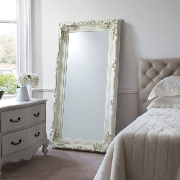 Louis Cream 176x90cm Leaner Mirror Cream