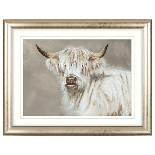 Dorma Highland Cow Grey