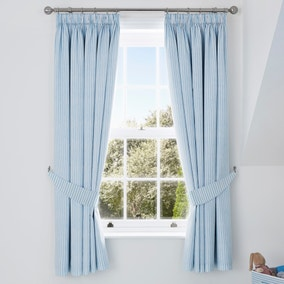 My First Journey Blackout Pencil Pleat Curtains