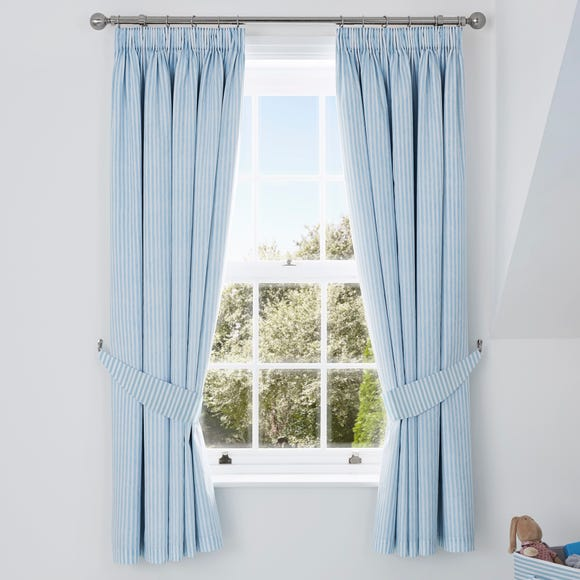 My First Journey Blackout Pencil Pleat Curtains  undefined