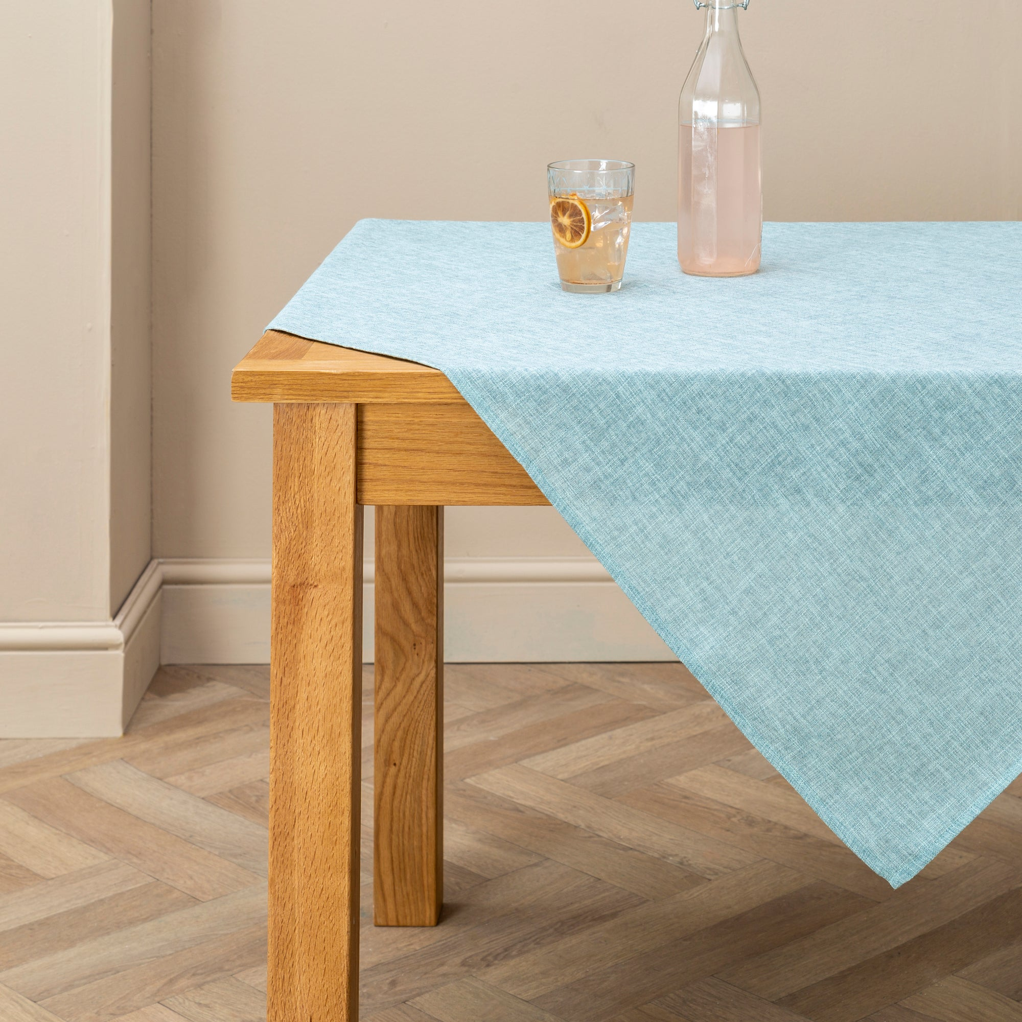 Image of Vermont Duck Egg Tablecloth Blue