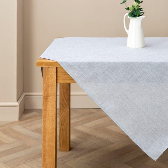 Vermont Dove Grey Tablecloth Grey undefined