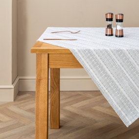 Glam Metallic Thread Tablecloth