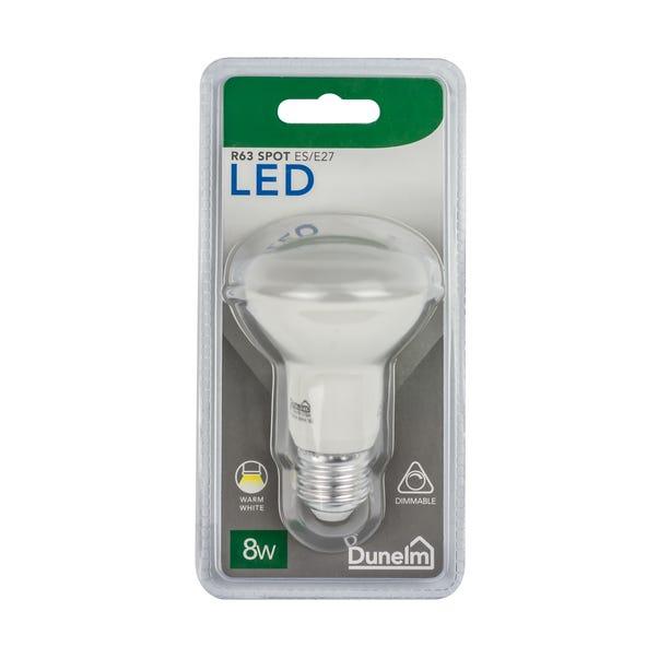 Dimmable 8 Watt ES Pearl R63 Spot Bulb White