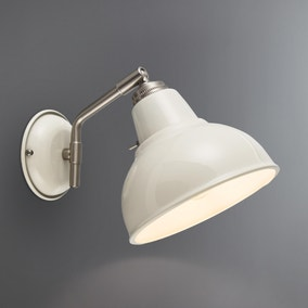 Bradwell Ivory Wall Light
