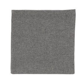 Pack Of Four Dark Grey Luna Napkins