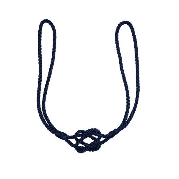 Knot Tieback Navy