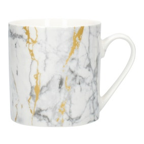 Marble and Gold Effect Mug