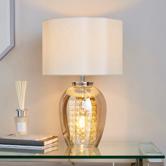 Seychelles Champagne Glass Table Lamp Champagne (Natural)