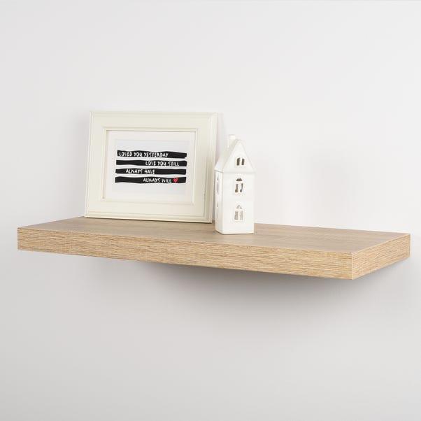 Duraline Oak Floating Shelf  undefined