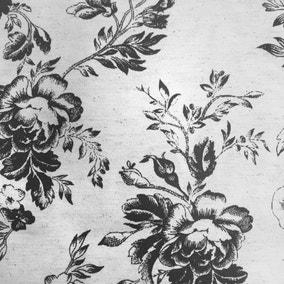 Cabbages & Roses Paris Black Fabric