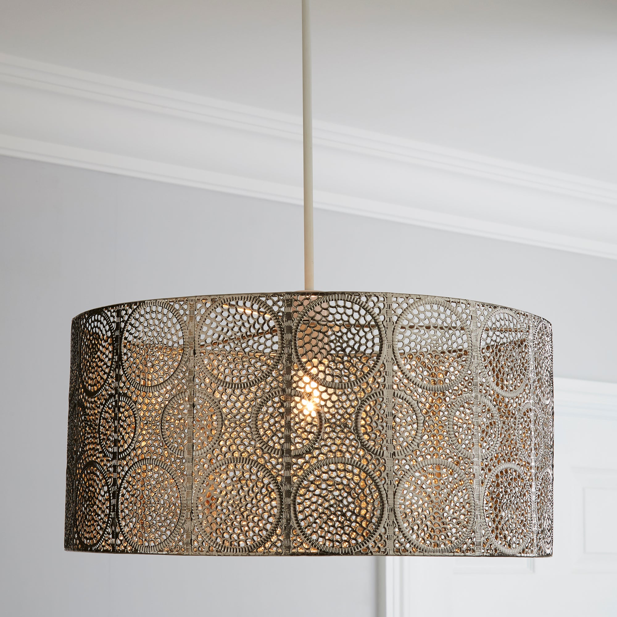 Click to view product details and reviews for Manila Nickel Easy Fit Pendant Silver.