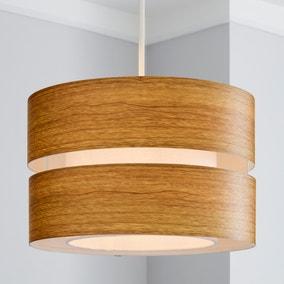 Frea 30cm Wood Easy Fit Pendant