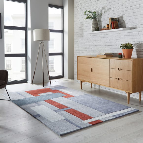 Elements Farg Abstract Rug Elements Farg Rust undefined