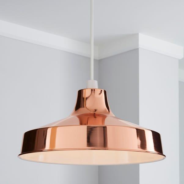 Stern 39cm Copper Easy Fit Pendant Copper (Brown)