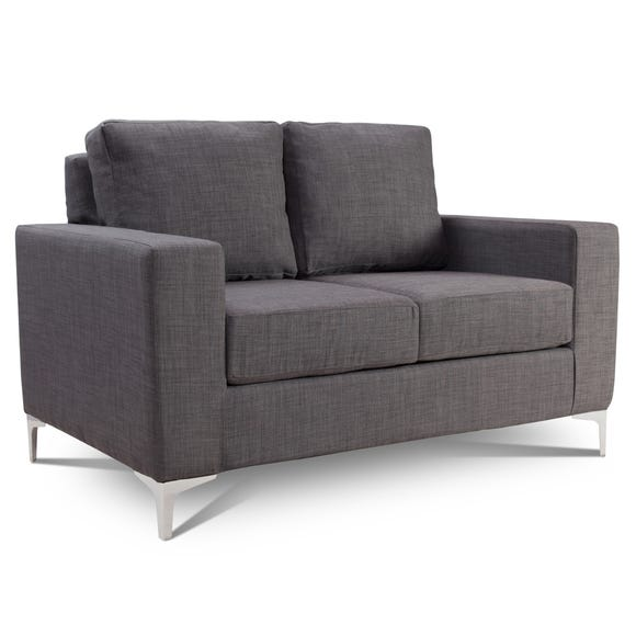 Tuscany 2 Seater Fabric Sofa Grey