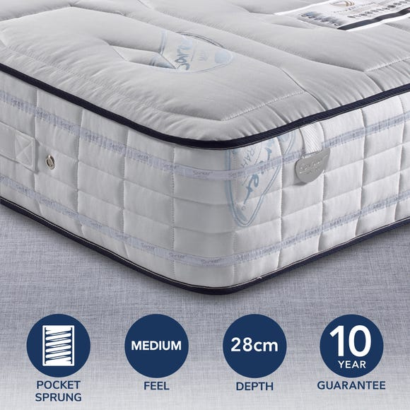 Sareer Pocketo 2000 Memory Mattress White undefined