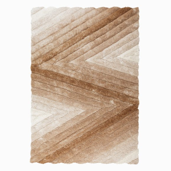 Champagne Carved Ombre Rug  undefined