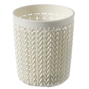Curver White Storage Pot