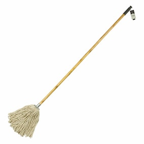 Cotton Mop With Wooden Handle