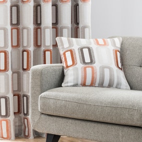 Elements Dahl Rust Cushion