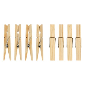 Pack Of 36 Wooden Pegs