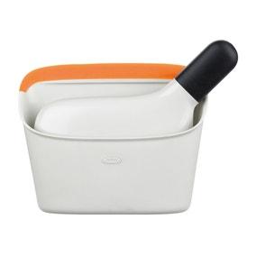 OXO Saffron Compact Dustpan and Brush