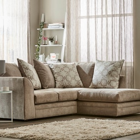 Washington Right Hand Fabric Corner Sofa