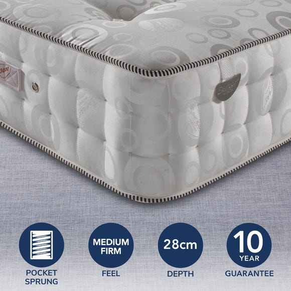 Pocketo 3000 Pocket Sprung Mattress Grey undefined