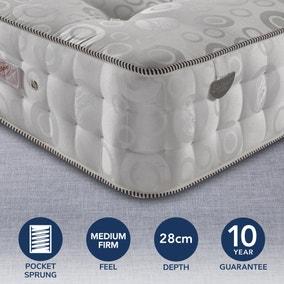 Pocketo Medium Firm 3000 Pocket Sprung Mattress